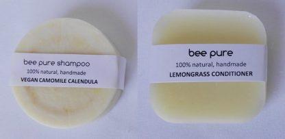 Vegan Camomile Calendula Shampoo & Conditioner Set