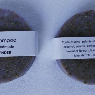 Vegan Lavender Solid Shampoo