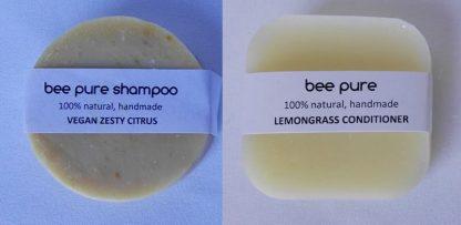 Vegan Zesty Citrus Shampoo & Conditioner Set