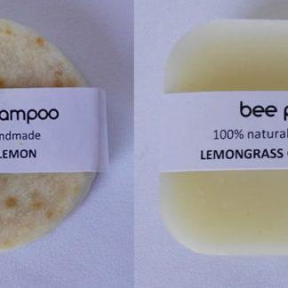 Vegan Zesty Lemon Shampoo & Conditioner Set