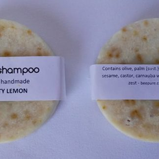 Vegan Zesty Lemon Shampoo