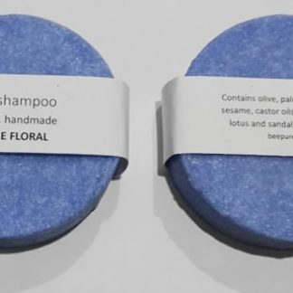 Blue Floral Solid Shampoo